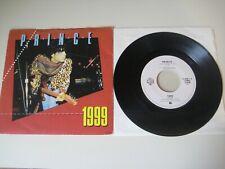 "PRINCE '1999' 1982 Dutch 7"" / 45 rpm vinyl single Rare Early cover"