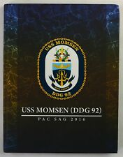 USS Momsen (DDG-92) 2016 Westpac Deployment Cruise Book Cruisebook
