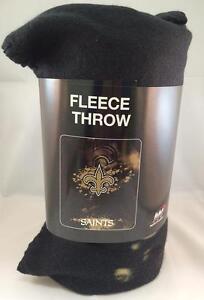 New 50x60 New Orleans Saints Fleece NFL Blanket Throw