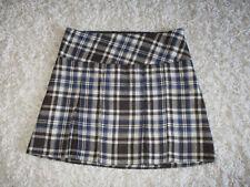 Schulmädchen Rock von *NKD - Outfit Fashion* (schwarz-blau kariert / Größe: 42)