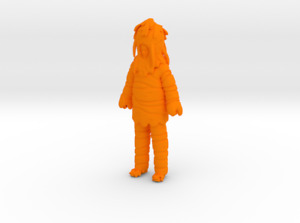Lost In Space Carrot Man Great Vegetable Rebellion 3D Printed Figure 1:24 scale