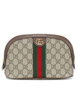 $705 GUCCI Ophidia Large Cosmetic Case Bag ex GUCCI Outlet