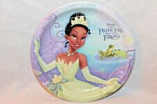 NEW  IN PACKAGE THE PRINCESS AND THE FROG 8 LUNCHEON PLATES   PARTY SUPPLIES