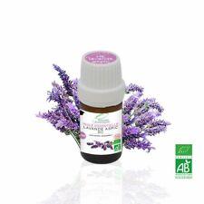 Huile Essentielle BIO Lavande Aspic 5ml. ABLabel, Ecocert Bio 100 % Pure.