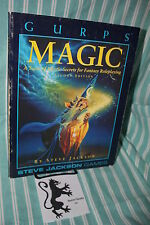 GURPS Magic Mystic Tome Steve Jackson Games Second Edition RPG Free Shipping