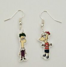 Disney Phineas and Ferb Cartoon Phineas and Ferb earrings