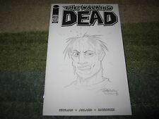 WALKING DEAD #109 VARIANT  ZOMBIE HEAD SKETCH BY BILLY MCKAY DONE AT NYCC 2013