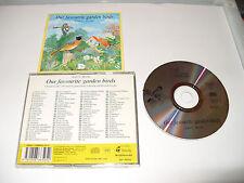 JEAN ROCHE  OUR FAVOURITE GARDEN BIRDS-CD-99 FAMILIAR GARDEN BIRDS SOUNDS-1994