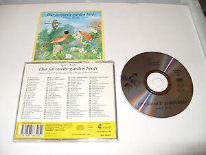 JEAN ROCHE  OUR FAVOURITE GARDEN BIRDS CD 99 FAMILIAR GARDEN BIRDS SOUNDS-1994