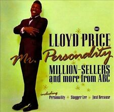 Lloyd Price * Mr. Personality: Million-Sellers and More from ABC (Shout) CD