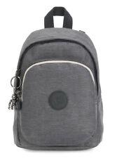 kipling Peppery Delia Compact Backpack Rucksack Tasche Charcoal Blau