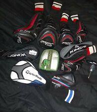 Lot Titleist 913H 913D 913F King Cobra F7 F8 TaylorMade M4 Nike Golf Head Covers