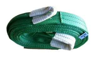 NEW HEAVY DUTY TOW ROPE 4x4 RECOVERY WINCH/TOW STRAP/STROP 4M TREE STROP 14 TON
