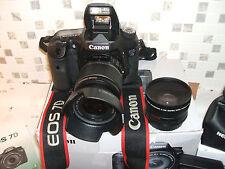 Canon EOS 7D usage professionnel vidéo numérique/vidéo et appareil photo reflex avec trois Lentille