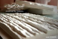 • 12 plastic molds VENEZIA for concrete veneer wall stone stackstone tiles