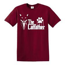 Die catfather T-Shirt Funny Cat Dad Cat Lover Kätzchen Vater Pops Tshirt Top