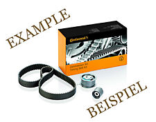 Contitech Timing Belt + Pulley Kit For Ford Escort 95 Vii 7 Fiesta Iv 4 1.8L