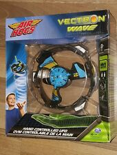 Air Hogs Vectron Wave 2 Hand Controlled UFO Heli Hover BLUE  *New*