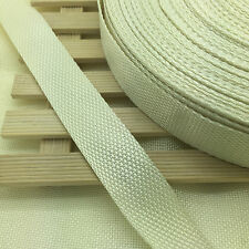 New 2 5 10 50 Yards Length 30mm Width Nylon Webbing Strapping Many color Pick