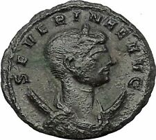 Severina wife of Aurelian 274AD Rare Ancient Roman Coin Concordia Harmony i54400