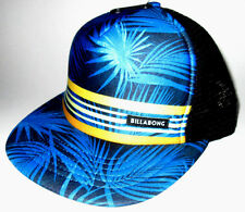 MENS BILLABONG TROPICAL SNAPBACK ADJUSTABLE HAT CAP ONE SIZE