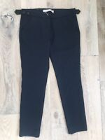 L'air de Rein Navy Blue Stretch Pants Size 27 EU BRAND NEW made In Italy