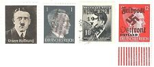 UNUSUAL STAMPS OF HITLER:ONE IS SIGNED