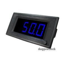 50V 200A DC Blue Digital Led Boat Solar Panel Amp Volt Combo Meter+Shunt