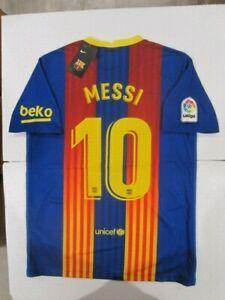 NIKE LIONEL MESSI FC BARCELONA EL CLASICO SPECIAL EDITION STADIUM JERSEY 2021
