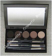 Laura Mercier Nude Smoky Eye Palette 2 Dual-Ended Brushes 1 Eye Brush HTF No Box