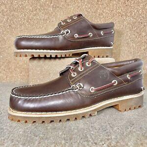 Timberland Heritage 3Eye Classic Lug Traditional Boat Shoes Docksider 30003 New