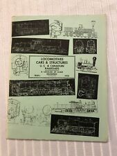 Vintage 1960's Locomotives Cars & Structures Catalog Of Scale Model Railroad