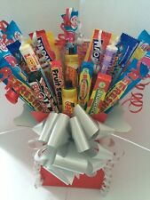 RETRO SWEET BOUQUET SWEETS KIDS CHOCOLATE EASTER MOTHERS DAY GIFT HAMPER
