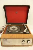 PORTAD  RECORD PLAYER TURNTABLE PORTADINE RADIO WITH GARRARD SRP.12 SRP12