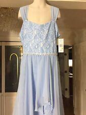 Children Clothes Girls Size 14 Easter Dress Sleeveless Tween Diva Baby Blue NEW