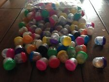 """1 inch Vending Machine Capsules Sticky Toy Mix 250 pieces Birthday Grab Bags 1"""""""