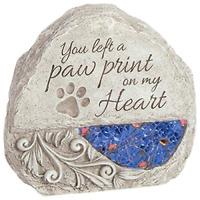 Dog Headstone Paw Garden Pet Stone Memorial Cat Marker Grave