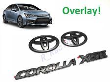 2020 2021 Toyota Corolla Xse Blackout Emblem Overlay Kit Gen Oem Pt948 02202 02