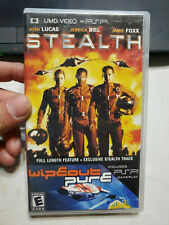 STEALTH MOVIE & WIPEOUT PURE GAME UMD PSP Sony PLAYSTATION PORTABLE