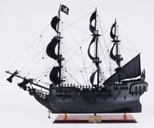 Black Pearl Pirate Ship Model Replica Handmade Finely Detailed Exclusive Edition