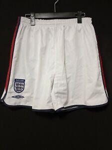 2003-05 Englan Football Shorts Soccer UMBRO Size:L