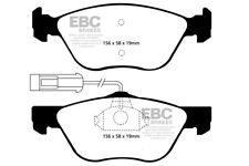 EBC Yellowstuff Front Brake Pads for Alfa Romeo GTV 1.8 (144 BHP) (98 > 00)