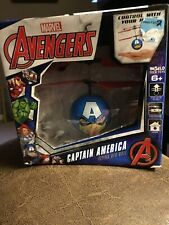 WorldTech Marvel Captain America Flying UFO Ball New in box. Free Shipping!!