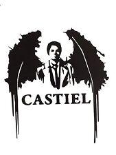 Decal Vinyl Truck Car Sticker - TV Supernatural Castiel Angel Wings v2