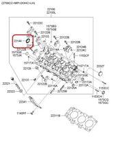 Engine Camshaft Seal Front GENUINE KIA 22144 39001 2.5L, 2.7L, 3.5L V-6