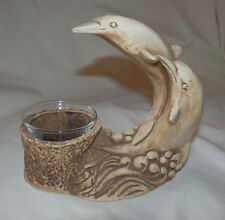 Dolphins Tealight Candle Holder by Ricardo Collectible
