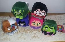 TEEN TITANS GO SET OF 6 WISH FACTORY KAWAII CUBES NEW WITH TAGS