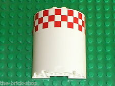LEGO white Cylinder Half 3 x 6 x 6 with 1 x 2 Cutout 87926 /Set 7939 Cargo Train