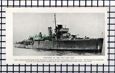 C6744) HM Minesweeper Ship BRITOMART - c.1945 Clip