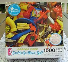 "WALTER WICK 1000pc PUZZLE, CAN YOU SEE WHAT I SEE ? ""THE JUNK DRAWER"" @2009"